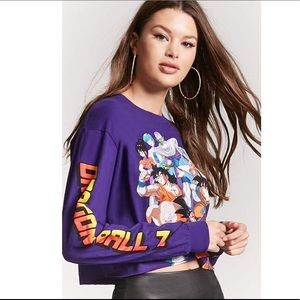 Dragon Ball Z cropped long sleeve